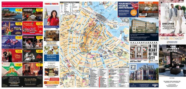 Sponsored City Maps
